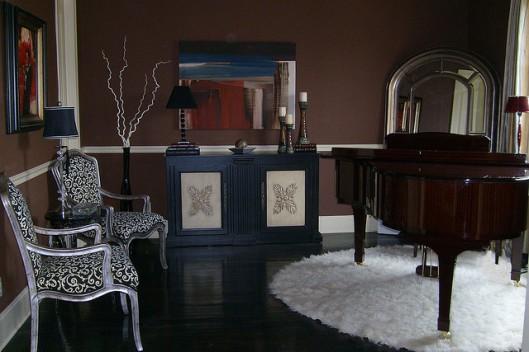 Designing with Dark Wood Flooring