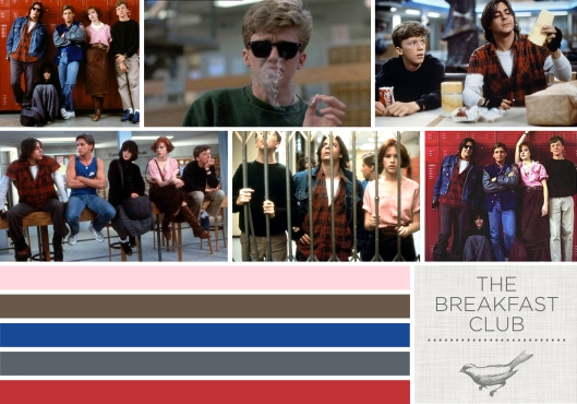 The Design Inspirationalist - Color in Films: The Breakfast Club
