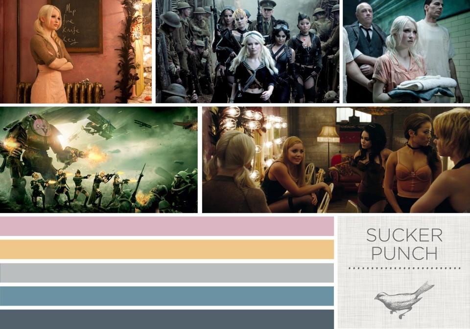 Color in Films: Sucker Punch