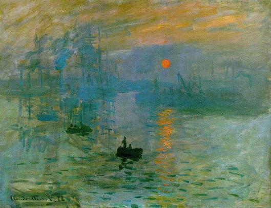 Inspirational Room Design: Monet's Impression, Sunrise