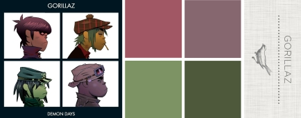 Sound in Color- Gorrilaz-Demon Days