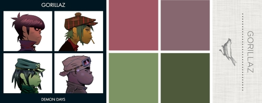 Sound in Color: Gorrilaz-Demon Days
