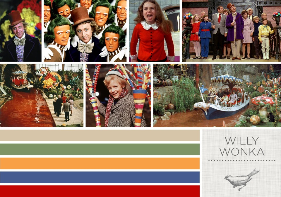 Color in Films: WIlly Wonka