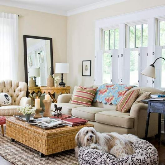 2013 cottage living room decorating ideas