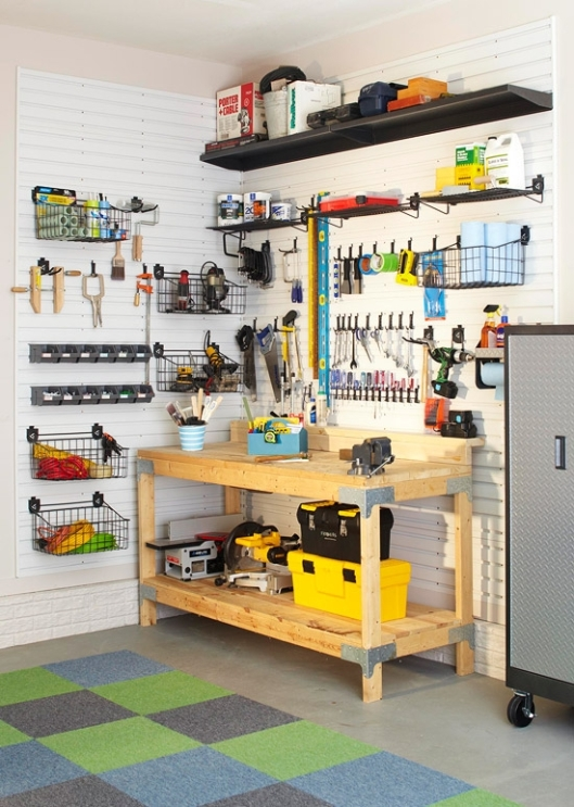 Getting Your Garage in Shape