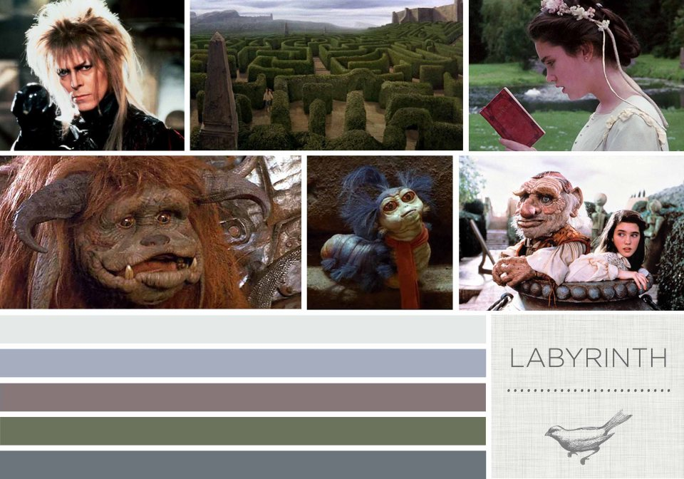 Color in Films: Labyrinth