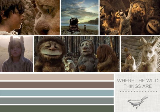 Color in Films: Where the Wild Things Are