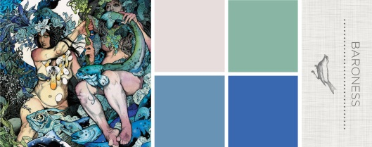 Color in Sound: Baroness - Blue Record