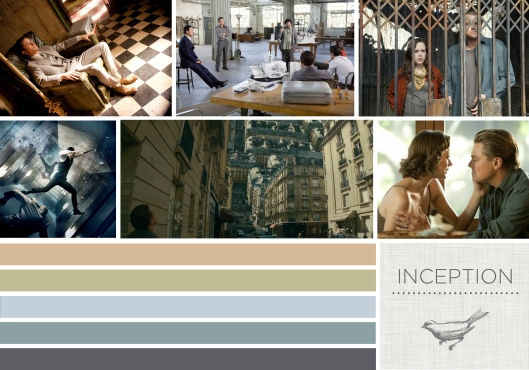 Color in Films: Inception