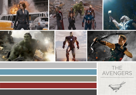 Color in Films- The Avengers