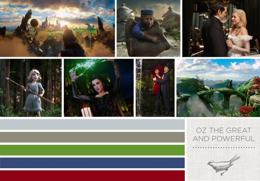 Color in FIlms: Oz The Great and Powerful