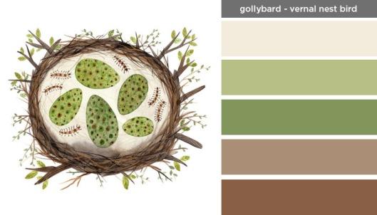 Art Inspired Palette - GollyBard
