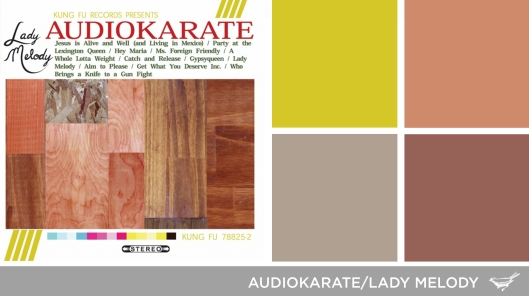 Sound in Color: Audio Karate-Lady Melody