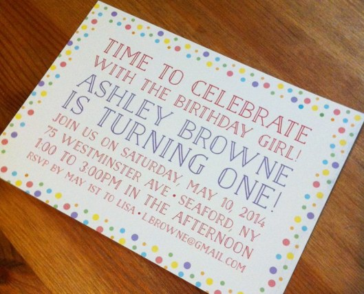 Minted Challenge Submissions: Kids Birthday Invites