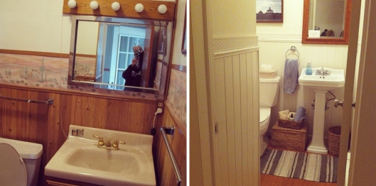 Renovation Recap - Half Bath
