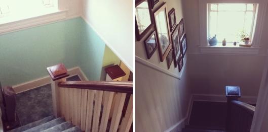 Renovation Recap - Stairwell