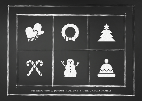 Minted Holiday Challenge: Part 2 - Chalkboard Cheer
