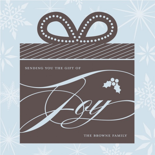 Minted Holiday Challenge: Part 2 - The Gift of Joy