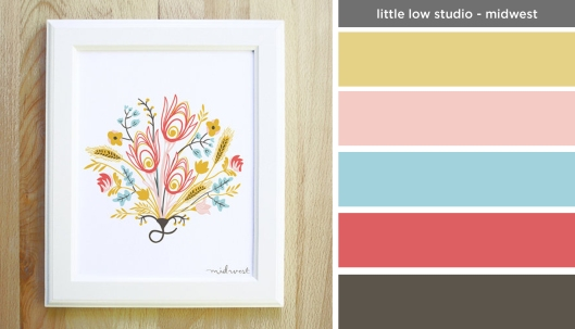 Art Inspired Palette: Little Low Studio-Midwest