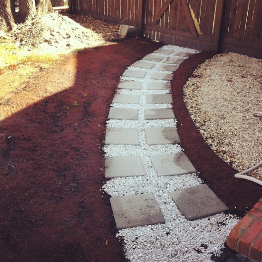 Backyard Makeover 2014