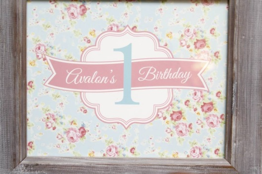 Team Up Event: Shabby Chic Birthday Party - © Neeko Studios | Event by Coco's Customs