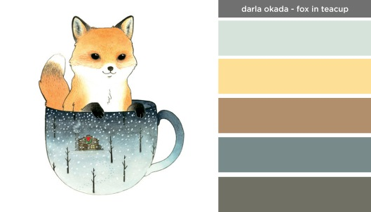 Art Inspired Palette: Darla Okada-Fox in Teacup