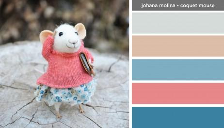 Art Inspired Palette: Johana Molina-Coquet Mouse