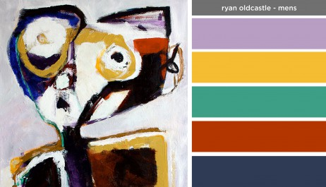 Art Inspired Palette: Ryan Oldcastle-Mens