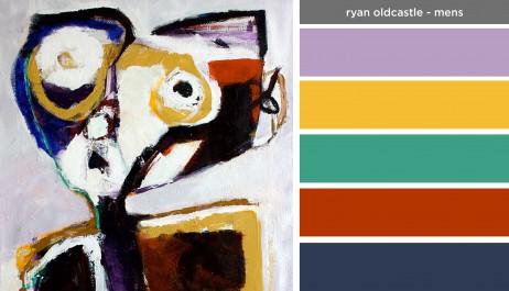Art Inspired Palette: Ryan Oldcastle-Mens