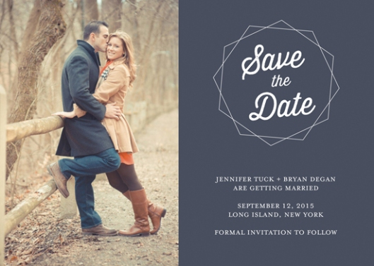 Minted Save the Date Challenge
