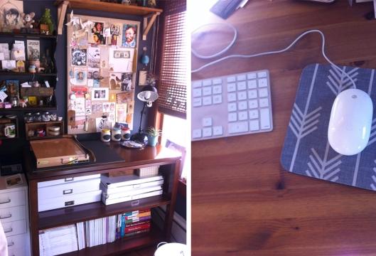 In My Studio