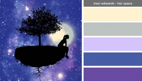 Art Inspired Palette: Traci Edwards-Her Space