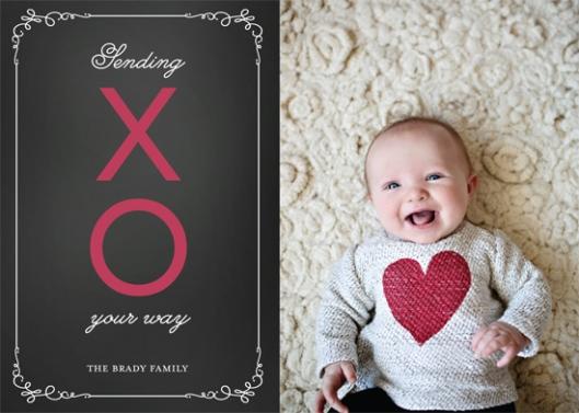 Minted Valentine's Challenge 2014 - Sending XO
