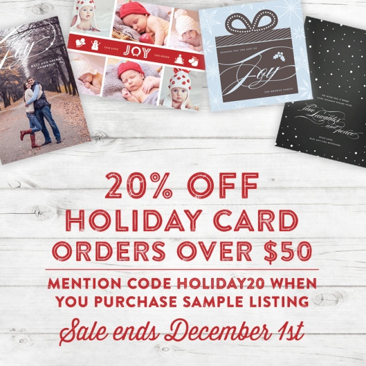 2014 Holiday Card Sale