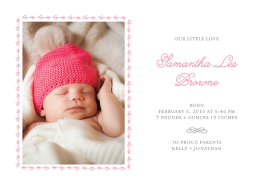 Minted Valentine's Challenge 2014 - Our Little Love