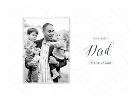Minted Quickfire Valentine's Art Challenge - Best Dad in the Galaxy