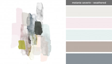 Art Inspired Palette: Melanie Severin-Weathered