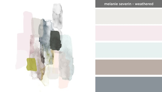Art Inspired Palette: Melanie Severin-Weathered