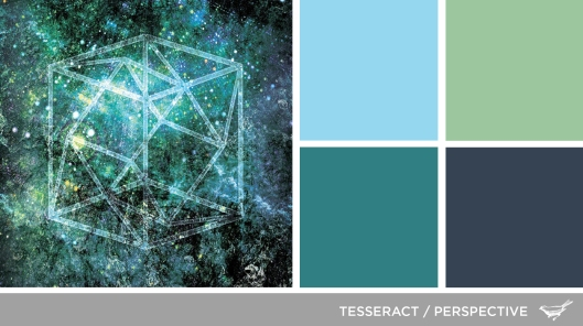 Sound in Color: Tesseract-Perspective