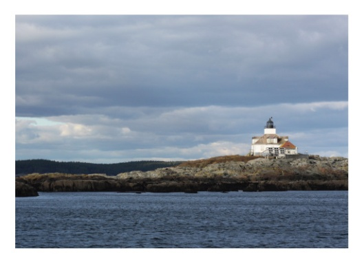 Lighthouse on the Water by Gray Star Design