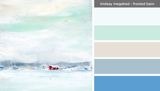 Art Inspired Palette- Lindsay Megahed-Frosted Barn