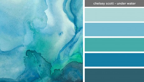 Art Inspired Palette: Chelsey Scott-Under Water