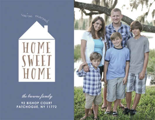 Minted We've Moved Challenge - Little Home