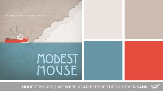 Sound in Color: Modest Mouse-We Were Dead Before the Ship Even Sank