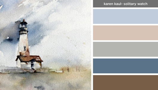 Art Inspired Palette: Karen Kaul-Solitary Watch