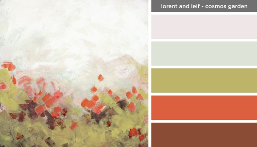 Art Inspired Palette: Lorent and Leif-Cosmos Garden