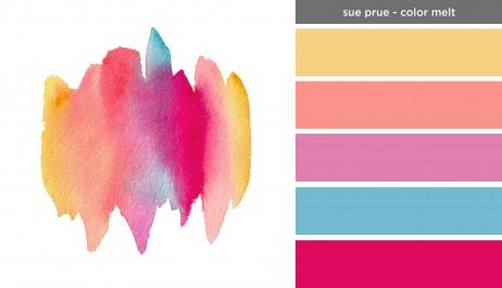 Art Inspired Palette: Sue Prue-Color Melt