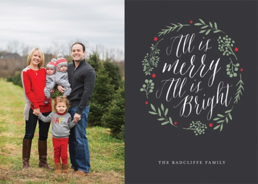 The 2015 Holiday Photo Minted Challenge - All is Bright