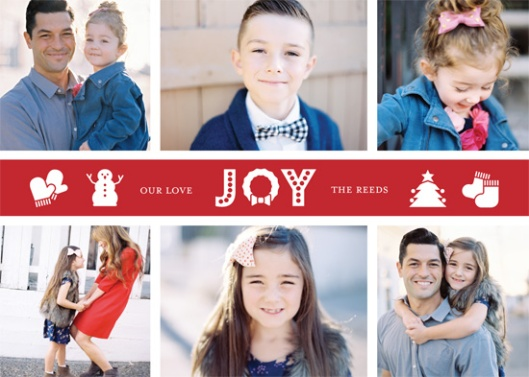The 2015 Holiday Photo Minted Challenge - Joyful Festive Collage