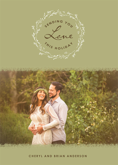The 2015 Holiday Photo Minted Challenge - Woodland Love